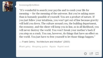 frank gehry quote tumblr
