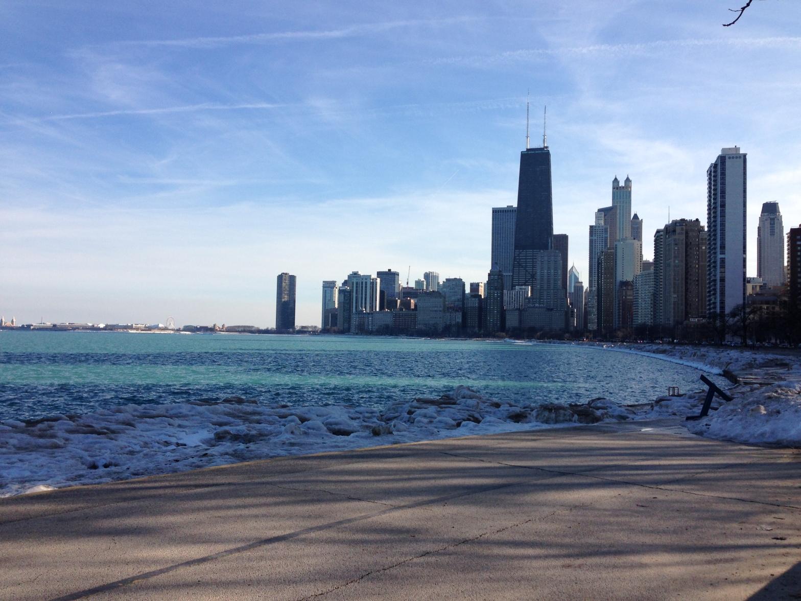 Chicago in winter - taken March 2015