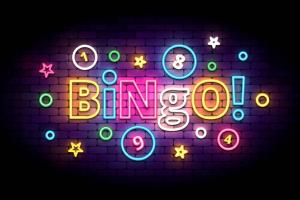Bingo! in neon signage